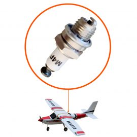 Spark plugs for model airplanes